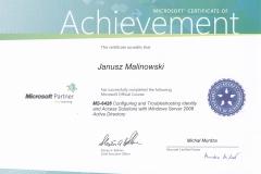 certyfikat MS6426