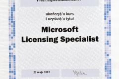 Licensing Specjalist