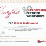 Certified Workshops Ustroń 5-6 marca 2018
